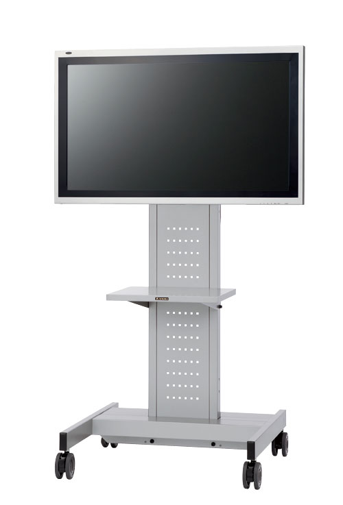 AURORA 脚幅がコンパクト安全タイプ中型TVスタンド 〜60型