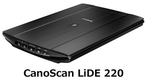 CANON A4フラットベッドスキャナー CanoScan LiDE 220