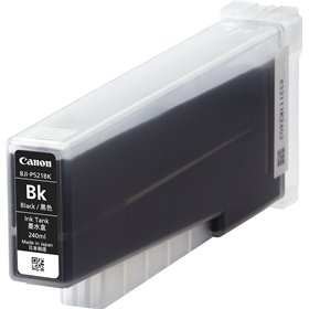 CANON LX-P5500用顔料ブラック、240ml。 BJI-P521BK[7636B001]