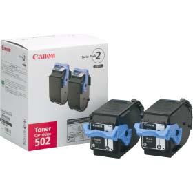 CANON トナーカートリッジ 502 2P BK (ブラック) CRG-502BLK2P