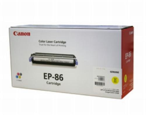 CANON EP-86 トナーカートリッジ Y (イエロー)