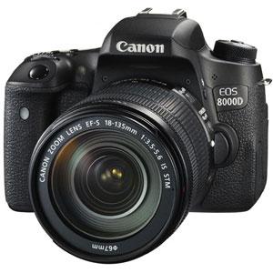CANON デジタル一眼レフカメラ EOS 8000D(W)・EF-S18-135 IS STM レンズキット[0019C002]