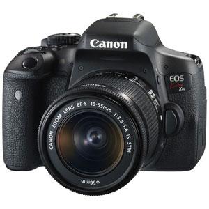 CANON デジタル一眼レフカメラ EOS Kiss X8i (W)・EF-S18-55 IS STM レンズキット[0590C002]