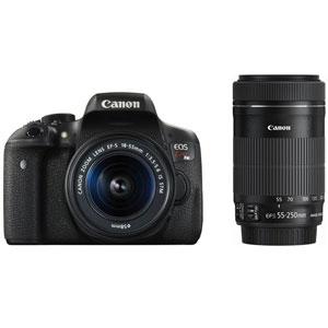 CANON デジタル一眼レフカメラ EOS Kiss X8i (W)・ダブルズームキット[0590C003]