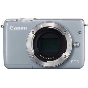 CANON ミラーレスカメラ EOS M10 (グレー)[0923C004]