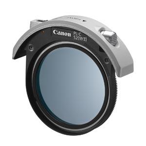 CANON キヤノンドロップイン円偏光フィルターPL-C52(WII)[4774B001]