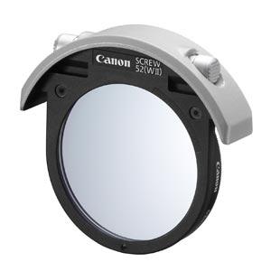 CANON ドロップインスクリューフィルターホルダー52(WII)52mmプロテクトフィルター付[4773B001]