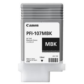 CANON iPF785/iPF780/iPF685/iPF680�p�}�b�g�u���b�N 130ml PFI-107MBK