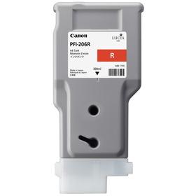 CANON IPF6450/IPF6400/IPF6400SE用レッド300ml PFI-206R