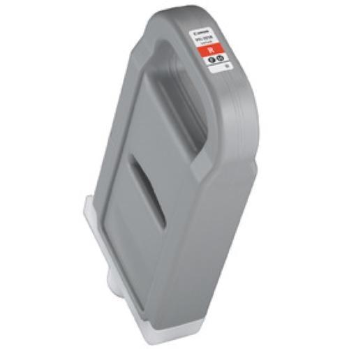 CANON iPF8000/iPF9000用インクタンク700ml レッド PFI-701R