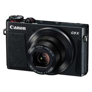 CANON デジタルカメラ パワーショット G9 X(BK)[0511C004]