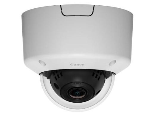 CANON 水平画角122.1度の広角レンズを搭載 ドーム型
