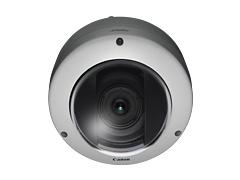 CANON 超広角111度3倍ズーム多画素固定ドーム ネットワークカメラ