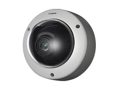 CANON 超広角111度3倍ズーム多画素固定ドーム 耐衝撃防水防塵 ネットワークカメラ