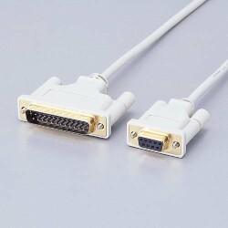 ELECOM RS-232Cケーブル(リバース)