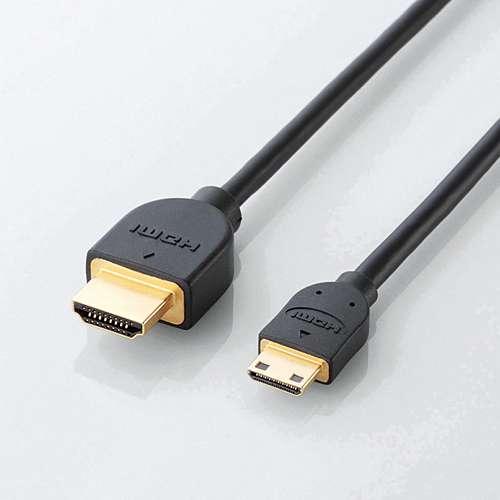 ELECOM イーサネット対応HDMI-Miniケーブル(A-C)