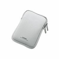 ELECOM ポータブルハードディスクケース グレー HDC-NC001GY