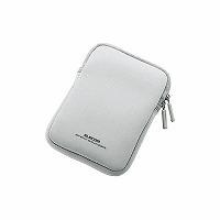 ELECOM ポータブルハードディスクケース グレー HDC-NC002GY