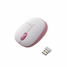 ELECOM ふわっと軽く、疲れにくい!小型軽量設計で、軽い力で操作できるワイヤレスタイプのBlueLEDマウス。
