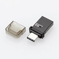 ELECOM USB Type-C������(�u���b�N) MF-CAU3164GBK