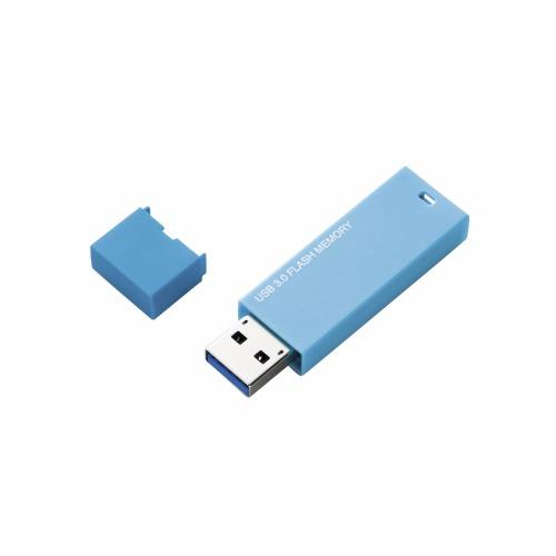 ELECOM USB3.0�Ή��ŁA�ő�60MB/s�̍����f�[�^�]��������!��V���v���ȃf�U�C���Ŏg�p�V�[����I�Ȃ�USB�������ł��B MF-MSU3A32GBU