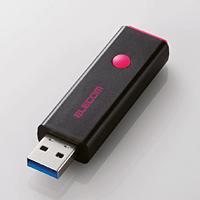 ELECOM USB3.0対応ノック式USBメモリ MF-PSU316GPN MF-PSU316GPN