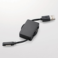 ELECOM Xperia用充電専用巻取りケーブル MPA-AXPR07BK