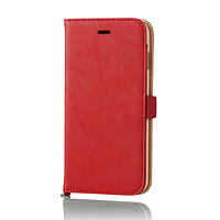 ELECOM iPhone6s(6)Plus用ソフトレザー/磁石タイプ PM-A15LPLFYRD