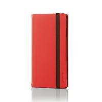 ELECOM iPhone 6s / 6用手帳型カバー/ゴムバンド付 PM-A15PLFCRD