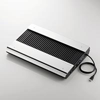 ELECOM USB3.0ハブ付きノートPC用クーラー(高耐久性×極冷) SX-CL24LBK SX-CL24LBK