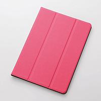 ELECOM iPad Air 2用イタリアンECOレザーカバー2アングル TB-A14WDTPN TB-A14WDTPN