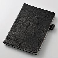 ELECOM iPad mini 4用ソフトレザーカバー(360) TB-A15S360BK