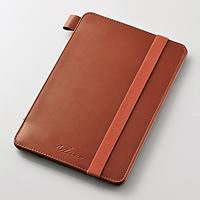 ELECOM iPad mini 4用ソフトレザーカバー(4アングル) TB-A15SPLF2BR