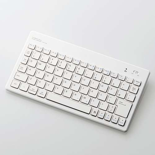 ELECOM [ELECOM(エレコム)] PC&iOS対応Bluetooth(R)3.0対応スタンダードキーボード