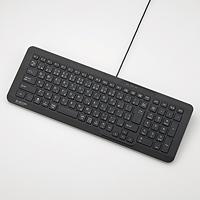 ELECOM コンパクト有線パンタグラフキーボード TK-FCP080BK
