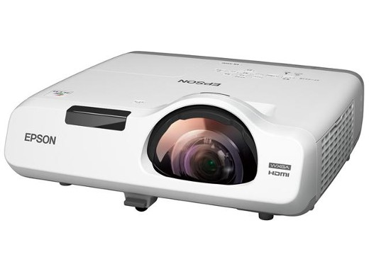 EPSON 超短焦点 投影距離約83cm 3400lm WXGA 16W