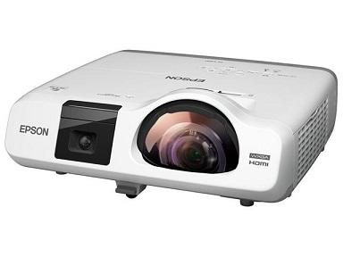 EPSON 「超」短焦点3400lm WXGA 電子黒板機能内蔵