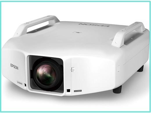 EPSON WXGA 8300lm レンズ別売 約23.2kg 静音高輝度