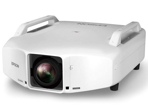 EPSON WXGA 9200lm レンズ別売 天吊OK 15000:1静音