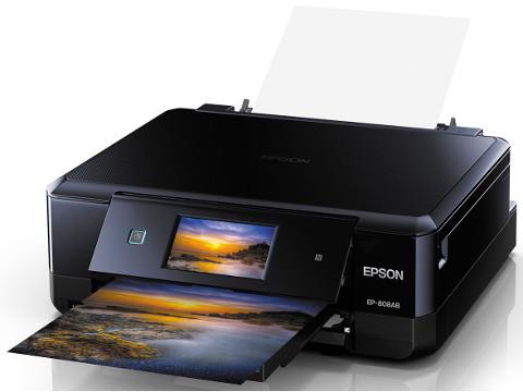 EPSON プリンター・複合機/インクジェットプリンター EP-808AB