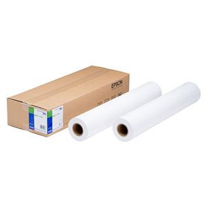 EPSON 普通紙ロール紙幅約1、118mm/坪量90g/?・厚さ0.11mm・白色度84・長さ100m(50m×2本)