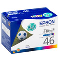 EPSON インクカートリッジ4色パック PX-FA700/V780/A740/A720/A640/A620/501A/402A/101 IC4CL46
