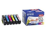 EPSON インクカートリッジ6色セットL