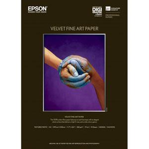 EPSON Velvet Fine Art Paper A3 10枚