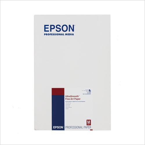 EPSON UltraSmooth Fine Art Paper A3ノビ:25枚
