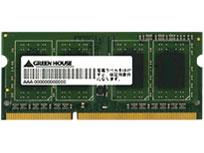 GREENHOUSE ノート用メモリ GH-DWT1600LV-4GB