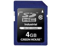 GREENHOUSE SDカード / SDHCカード(工業用)