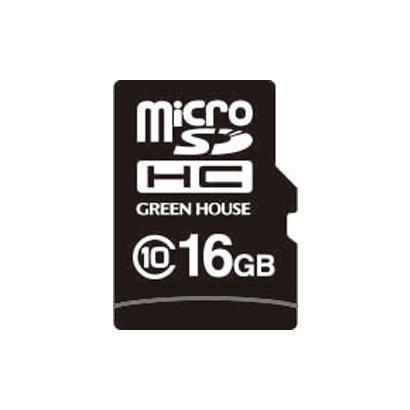 GREENHOUSE microSDHCカード(工業用) GH-SDMI-WMA16G