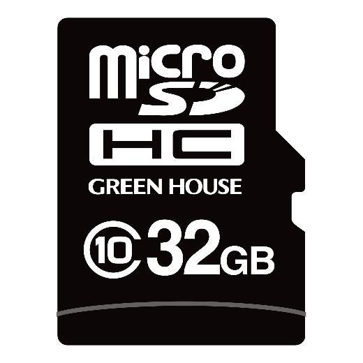 GREENHOUSE microSDHC�J�[�h(�H�Ɨp) GH-SDMI-WMA32G