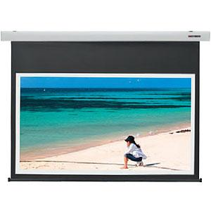 KIKUCHI 電動スクリーン120型ワイド スノーホワイト SES-120HDPG_W